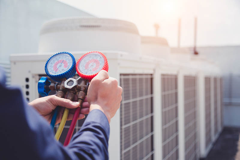 commercial cooling and heating service in las vegas