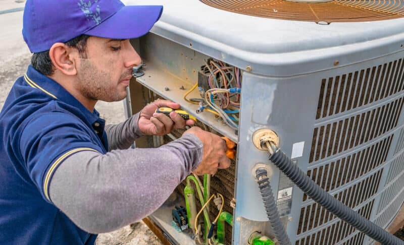 commercial heating and cooling companies near me