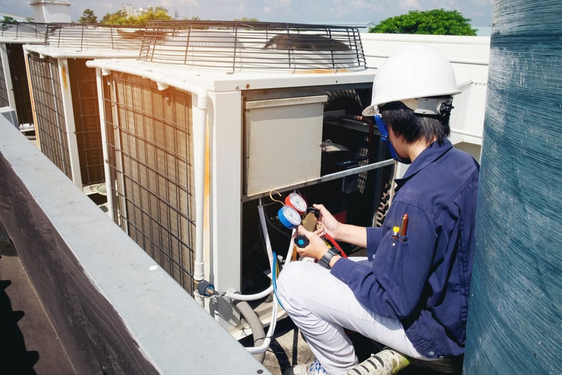 commercial cooling and heating service near me