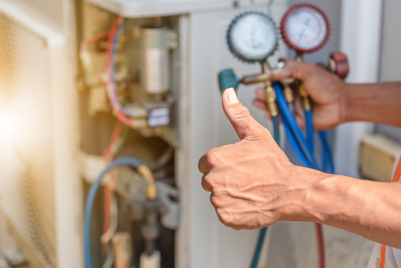 top commercial heating and cooling service